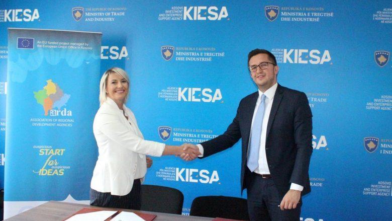 KIESA dhe ARDA memorandum për përkrahjen e sektorit privat