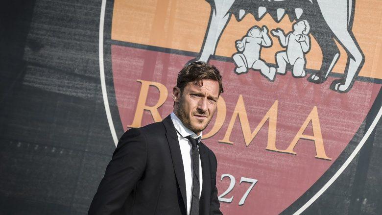 Zyrtare: Totti, drejtor i Romës – dua të bëj atë që bëra si futbollist