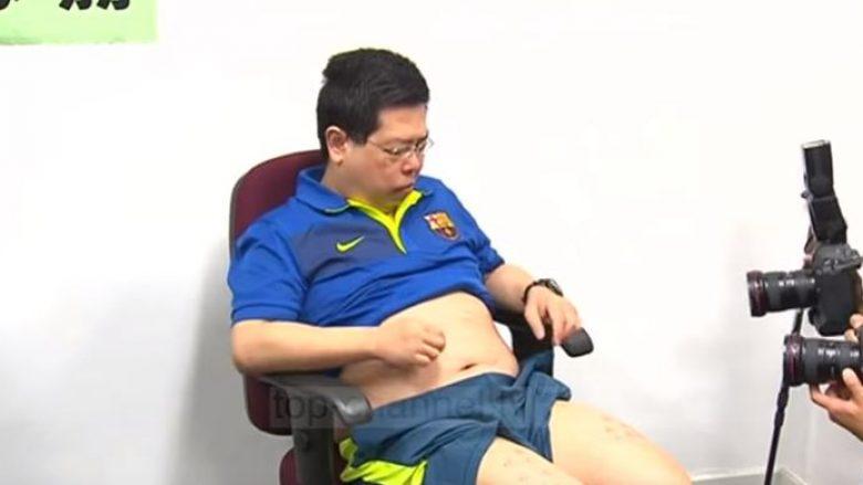 Për një foto të Messit, aktivisti rrëmbehet e rrahet nga agjentët kinezë (Video)