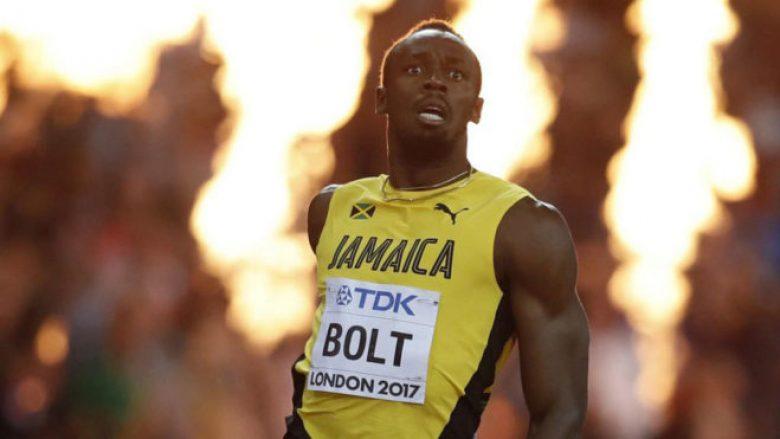 Usain Bolt: Fundi po më mbyt