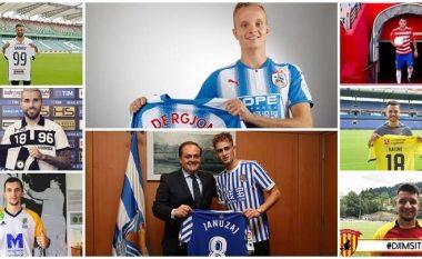 Përfundon afati kalimtar veror, këto janë 35 transferimet e futbollistëve shqiptarë nëpër botë (Foto)