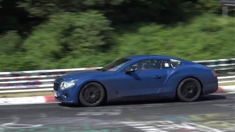 Bentley Continental që lansohet në shtator, do të ketë ndryshime të mëdha (Video)