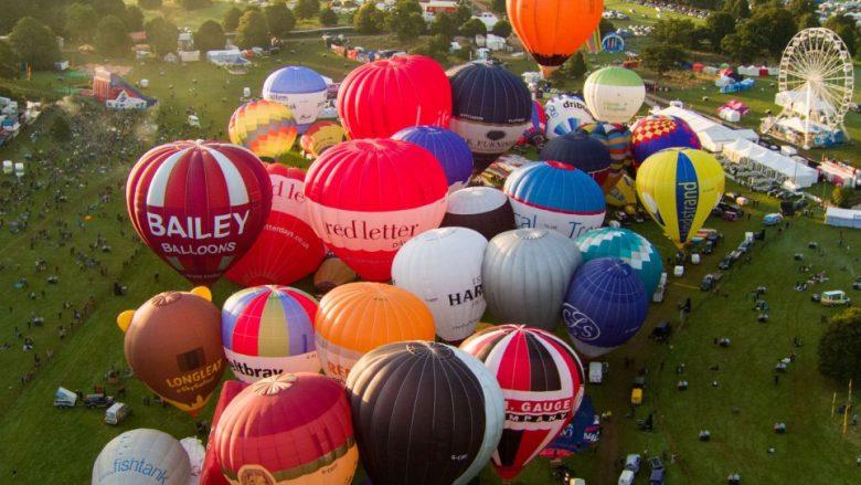 Fillon festivali më i madh evropian i balonave (Foto)