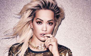 Rita Ora në sesionin e ri fotografik, feston vendin e katërt në iTunes (Foto/Video)
