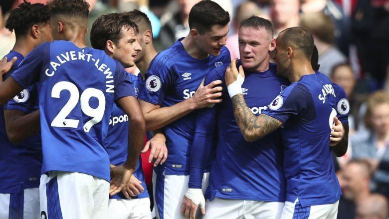 Kthimi triumfues i Rooneyt, vendos fitoren e Evertonit (Video)
