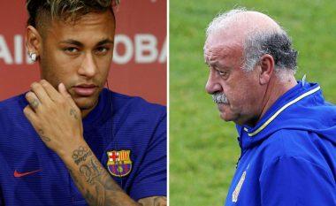 Del Bosque: Barça mund të jetë ekip më i mirë pa Neymarin
