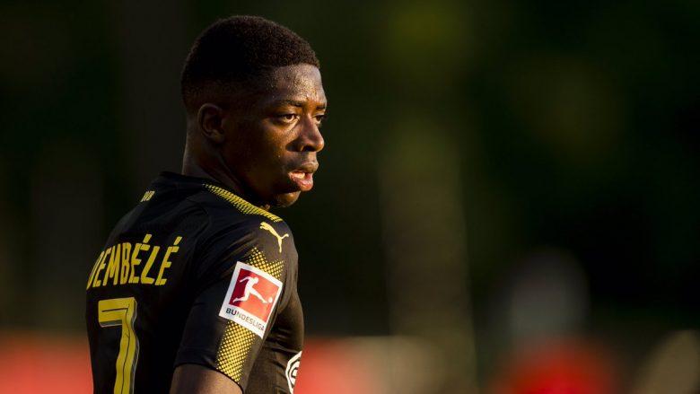 """Dortmundi ia vazhdon suspendimin Dembeles deri në """"njoftimin e radhës"""""""
