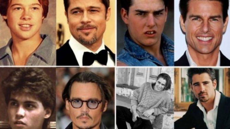 Katër meshkujt më 'hot' të Hollywoodit – dikur dhe tani (Foto)