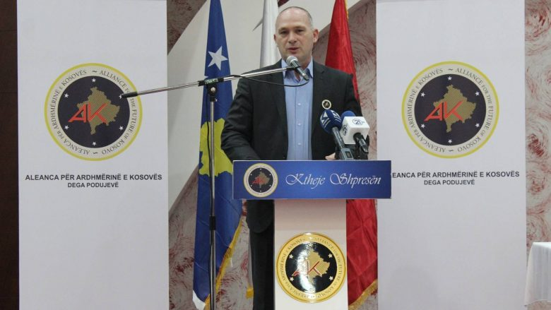 AAK zyrtarizon kandidatin për kryetar të Podujevës