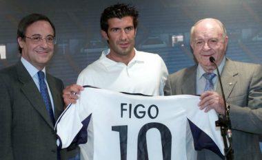 Florentino Perez tregon si e bindi Figon ta lë Barcelonën