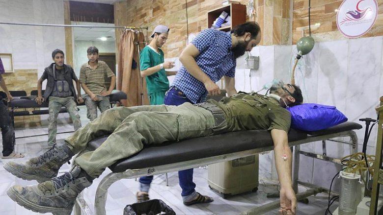 """Dyshohet për sulm me gaz helmues në """"zonën jokonfliktuale"""" në Siri"""