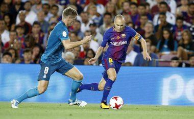 Iniesta do të largohet nga Barcelona për tu transferuar në Kinë, Tianjin e bënë futbollistin më të paguar në botë