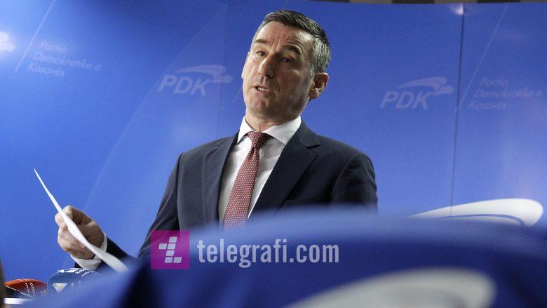 Veseli: PDK me platformën më të mirë për Komunat