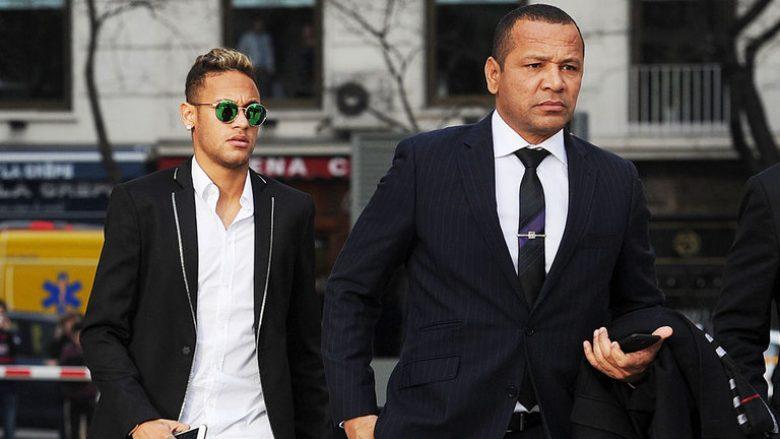 Neymar dhe babai i tij