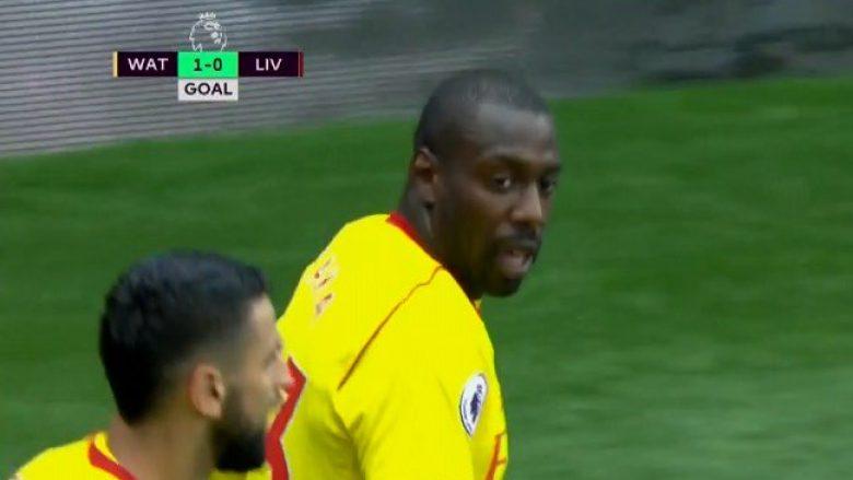 Watfordi befason shpejt Liverpoolin, shënon Okaka (Video)