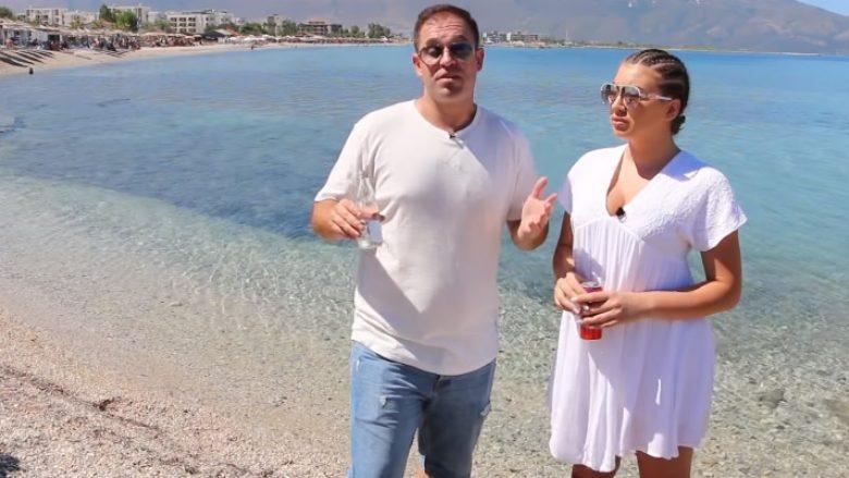 """""""Rrahmoni"""" e Egzona vazhduan """"tripin"""" tani në Orikum (Video)"""