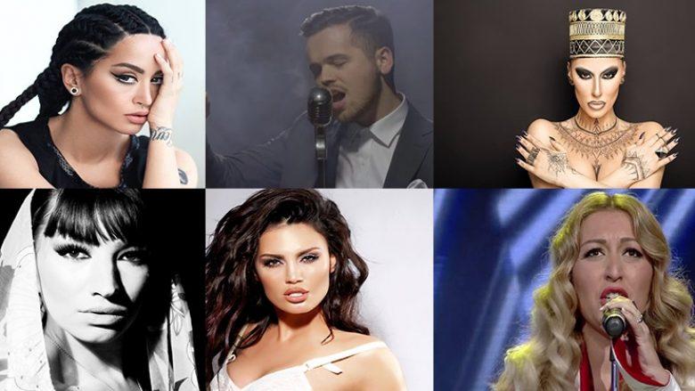 """Këngëtarët që do të mund ta përfaqësonin më së miri Kosovën në """"Eurovision"""" (Video)"""