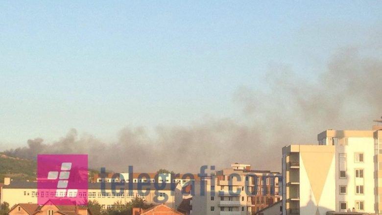 Përfshihen nga zjarri 200 hektarë në Kçiq të Mitrovicës (Foto)