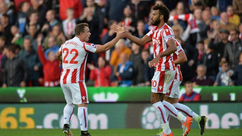 Shaqiri i kënaqur me paraqitjen dhe rezultatin ndaj Unitedit (Foto)