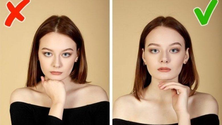 Imazhe që tregojnë se si duhet pozuar para objektivit të aparatit, nëse dëshironi të dukeni bukur (Foto)