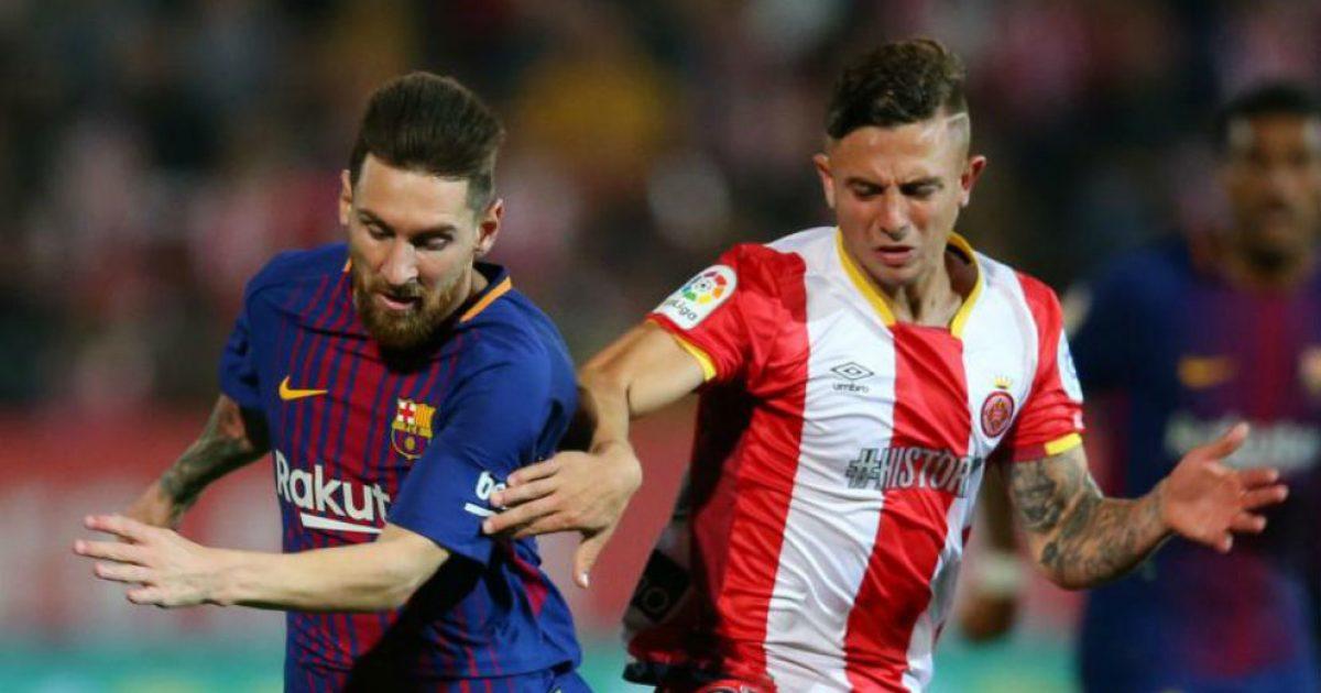 Talenti i Gironas i huazuar nga City zbulon se çfarë i tha Messi pas takimit dhe pse në fund e ndërroi fanellën me Ter Stegenin e jo argjentinasin