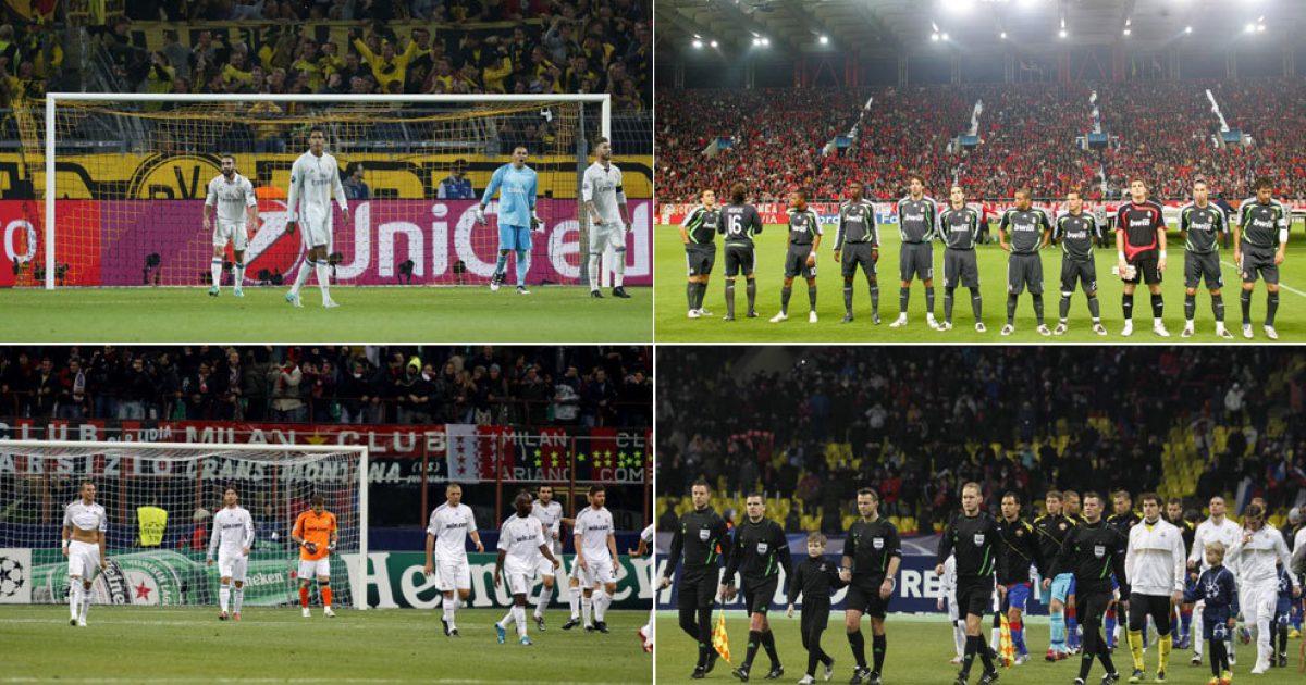 Tetë skuadra që Real Madridi nuk i ka mposhtur kurrë si mysafirë në Ligën e Kampionëve