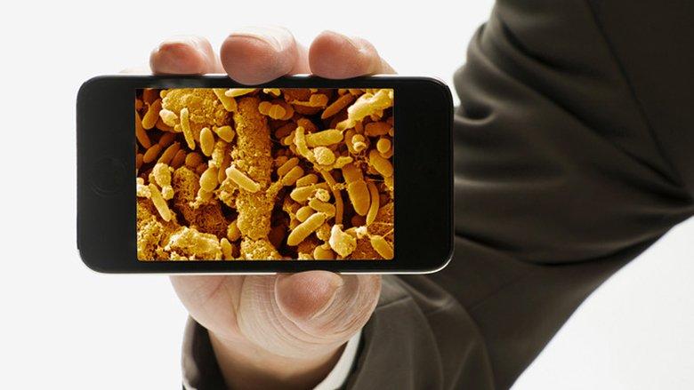 Dhjetë bakteret që jetojnë në telefonat tonë mobil