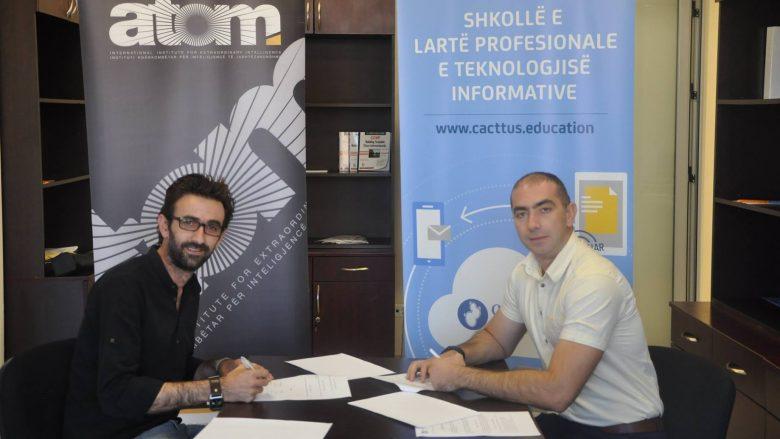 Në mbështetje të Institutit ATOMI, Cacttus Education ofron dy bursa të plota për atomistë