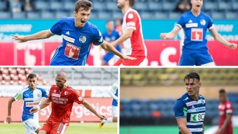Futbollistët shqiptarë pushtojnë formacionin e javës në Zvicër (Foto)
