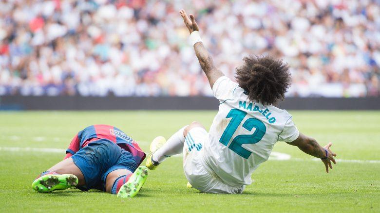 Marcelo dënohet me dy ndeshje moslojë shkaku i kartonit të kuq