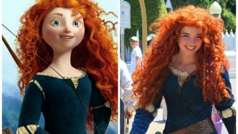 Fotografitë që vërtetojnë se karakteret tona të preferuar nga filmat e animuar 'jetojnë' mes nesh (Foto)