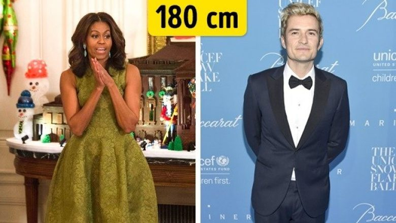 Michelle Obama dhe Orlando Bloom