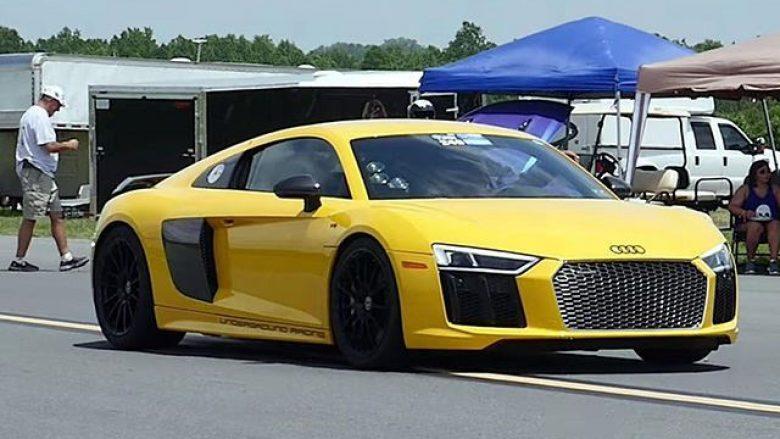 Audi R8 me 2,500 kuajfuqi ka arritur shpejtësi rekorde (Video)