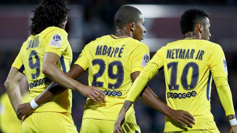 Mbappe ia bën sefte me PSG-në, shënon në debutim (Video)