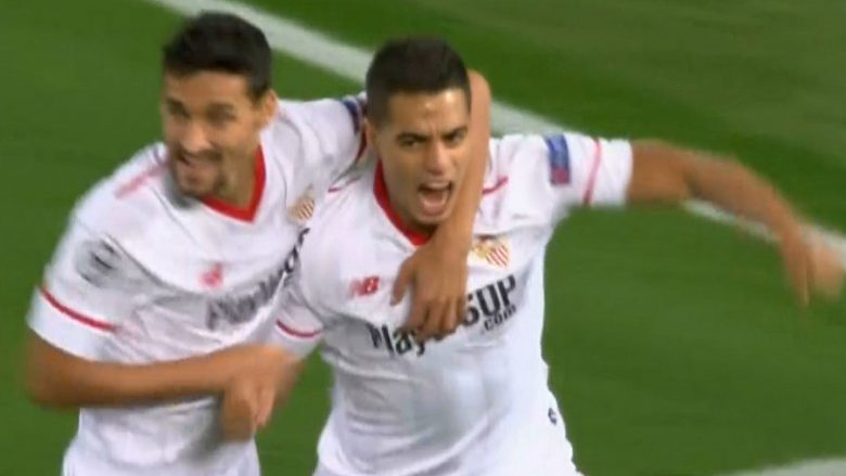 Sevilla befason Liverpoolin në minutat e parë (Video)