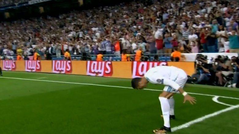 Ronaldo kalon Realin në epërsi ndaj Apoelit (Video)