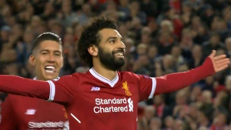 Liverpooli në epërsi ndaj Sevillas, shënon Salah (Video)