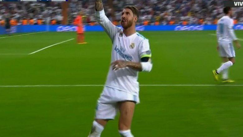 Ramos vjen me golin e javës në LK, i shënon në gërshërë Apoelit (Video)