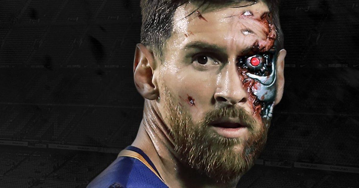 Arnold Schwarzenegger  Messi është  terminatori i futbollit