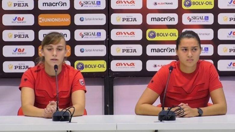 Kombëtarja e Shqipërisë për femra e gatshme për ndeshjen ndaj Zvicrës