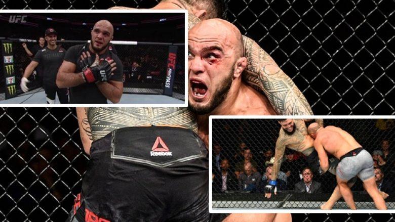 Latifi dëshiron të përballët me pesëshen e madhe të UFC-së, tregon pse mungoi për një vit (Foto/Video)