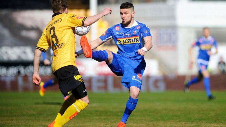 Kastrati vazhdon me gola në Norvegji