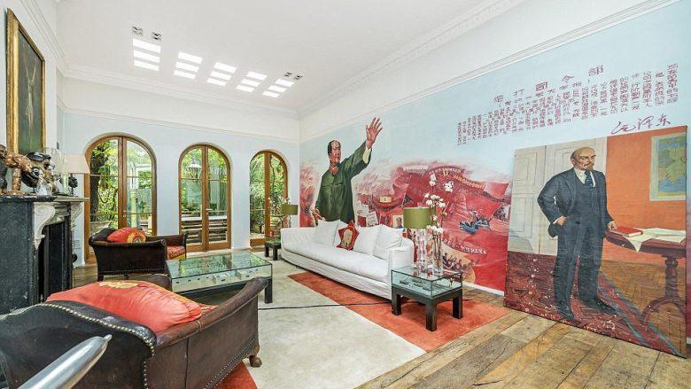 Lëshohet me qira shtëpia me muralet e diktatorëve më famëkeq të historisë (Foto)
