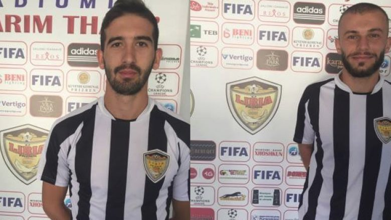 Domgjoni dhe Gavazaj mund të luajnë për Lirinë në ndeshjen e fundjavës ndaj Prishtinës