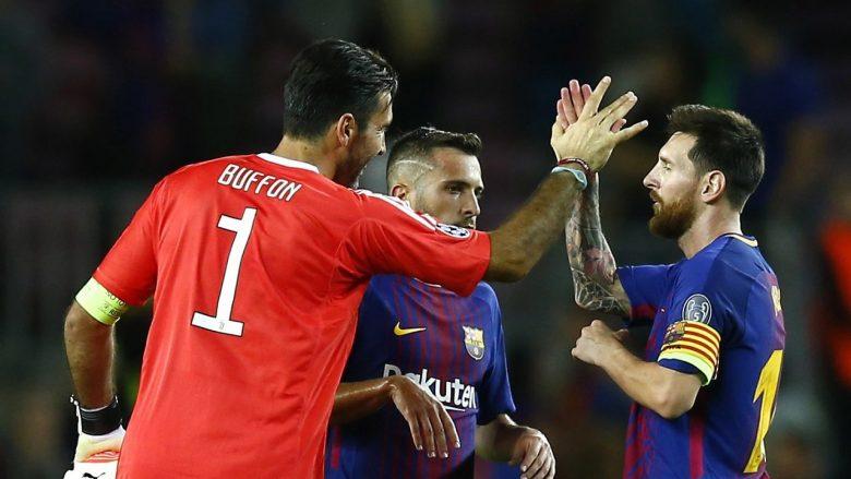 Messi u ka shënuar 138 portierëve gol, Buffon futet në listë (Foto)
