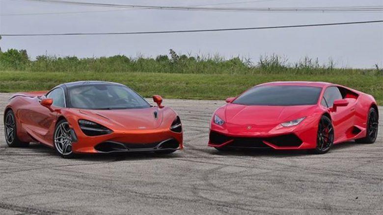McLareni 720S e mund Lamborghinin Huracane si për asgjë (Video)