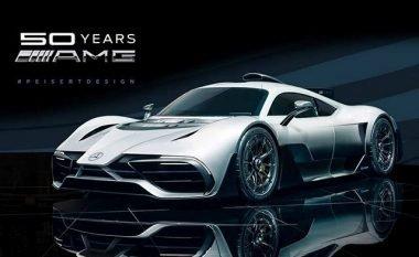 Përmes efekteve kompjuterike, AMG Project One ka pamje edhe më të mirë (Video)