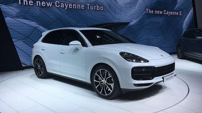 Porsche Cayenne Turbo, rival i fortë për makinat SUV (Foto)