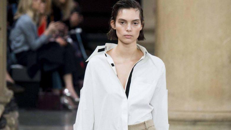 Këmishët e bardha klasike, rikthehen në trend për sezonin Vjeshtë/Dimër (Foto)