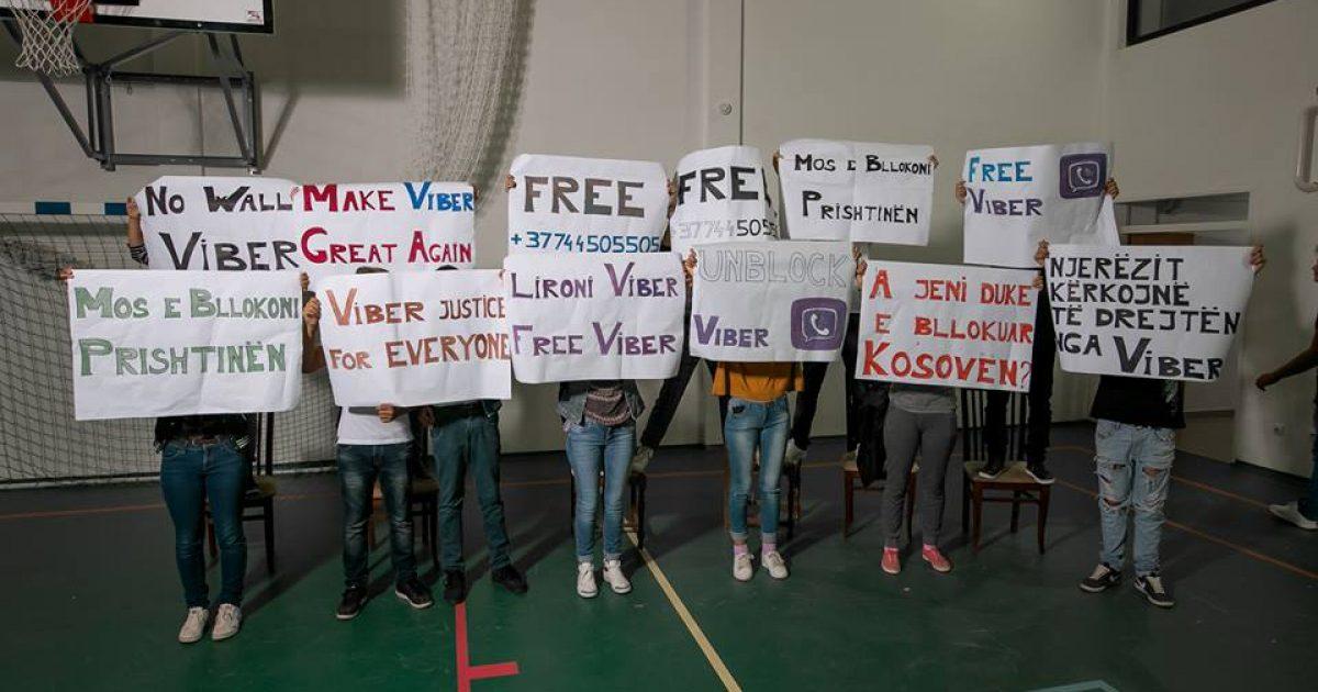 Jo mure nga Viberi   thonë të rinjtë që mbështetësin Selim Pacollin